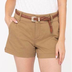 🌈☀️2/$30! Ricki's Mid-Rise Tan Shorts